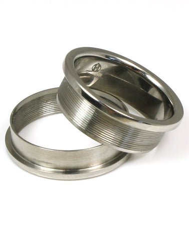 Base Twist Ring with Options for Inlays