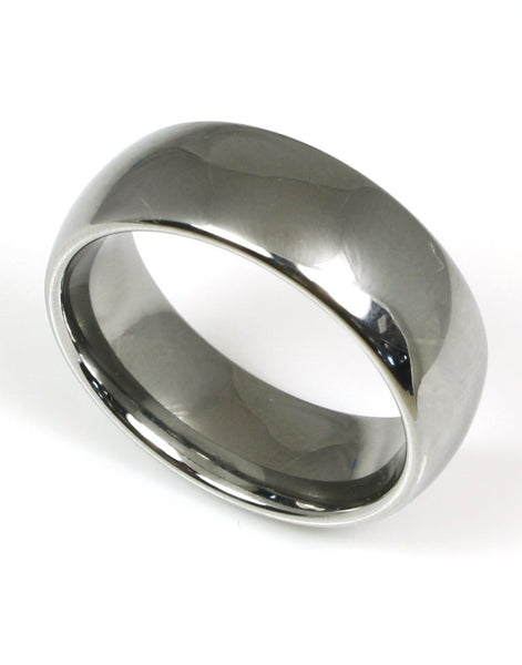 Tungsten Band by Heavy Stone Rings