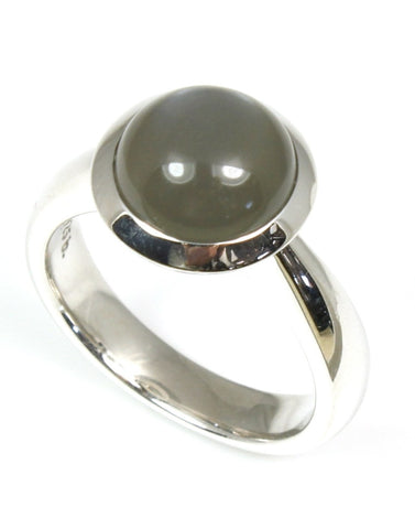 Oregon Afternoon Moonstone Ring by Bastian-Inverun