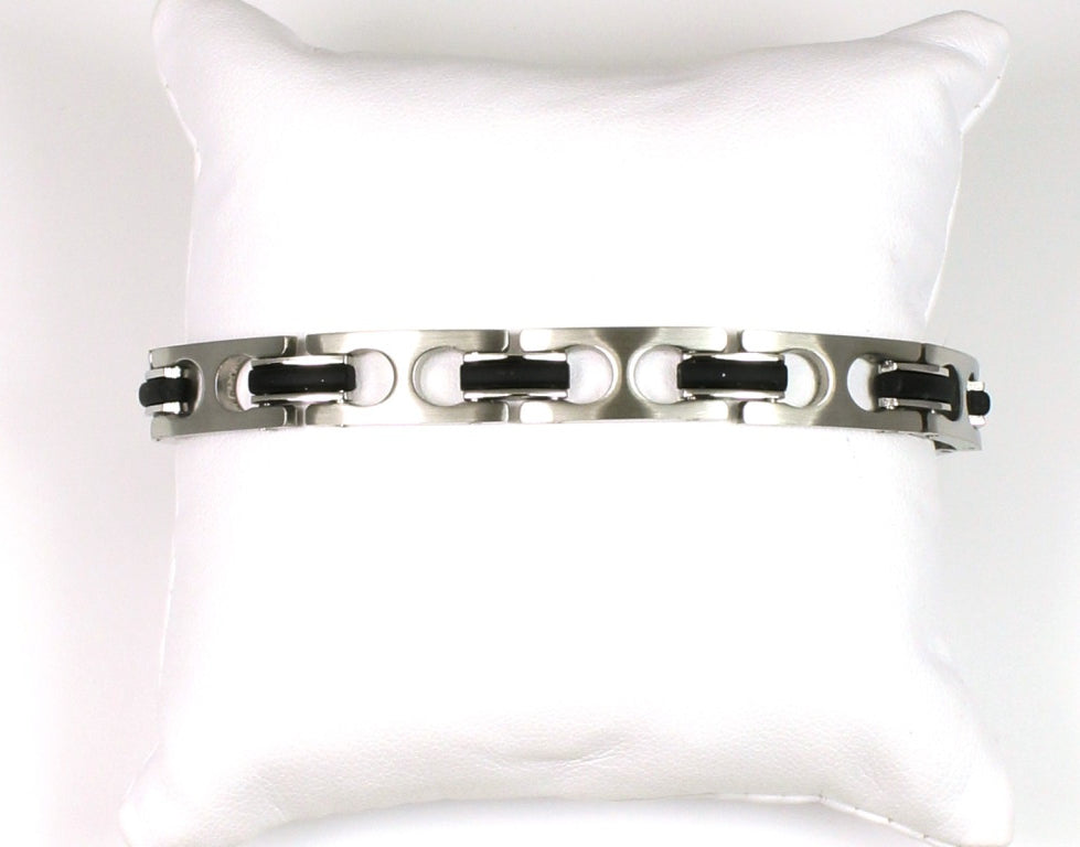chain black solid leather outfits statement textured pin jewelry curb tuxedo all to lull buckle closure bracelet contemporary monaco sterling blog rental goti silver with