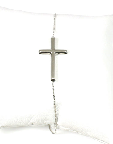 East to West Cross Bracelet