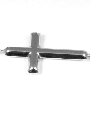 Petite East to West Cross Bracelet