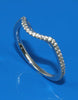 .24ctw Curved Diamond Band