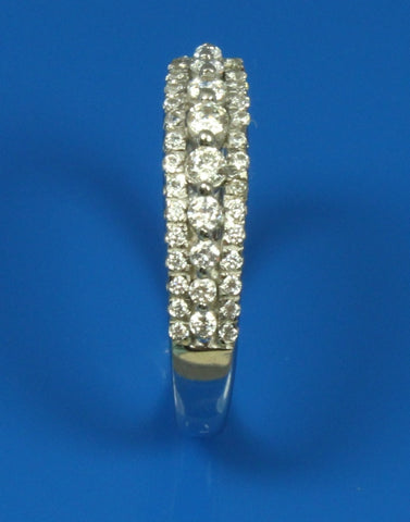 .43ctw Diamond Three Row Band