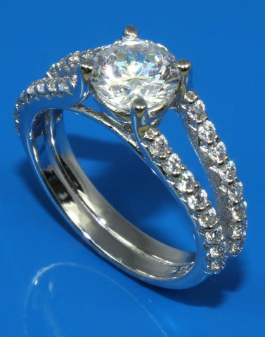 .56ctw Diamond Open Ring Setting