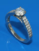 .32ctw Double Row Diamond Engagement Ring Setting