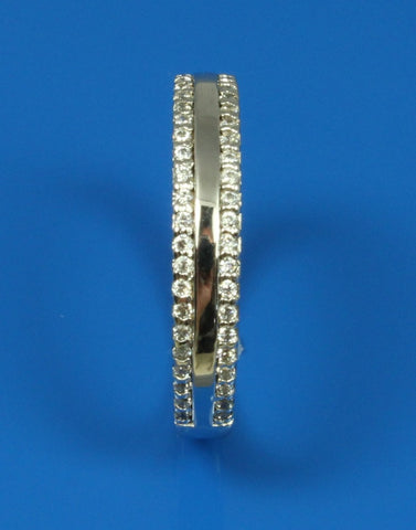.25ctw  Diamond 2 Row Band