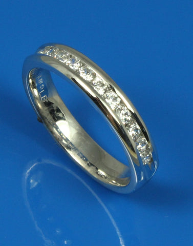 .33ctw Diamond Channel Set Band