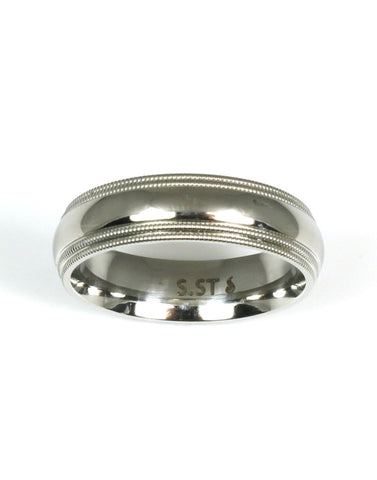 Stainless Steel Wedding Band CLOSEOUT!!