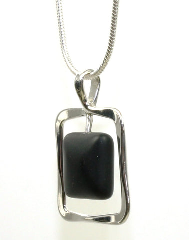 Zenith Onyx Necklace by Ed Levin