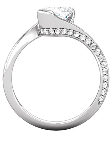 """Nora"" Diamond Ring Setting"
