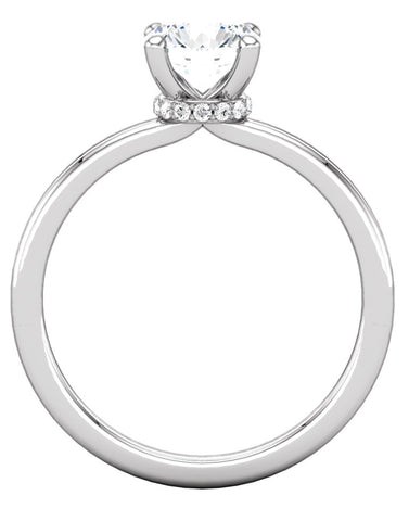 """Lindsey"" Diamond Ring Setting by Ever & Ever"