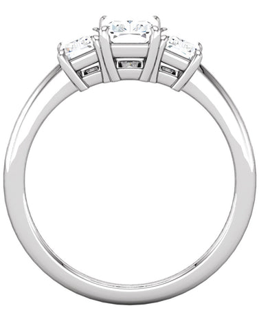 """Savannah"" Diamond Ring Setting by Ever & Ever"