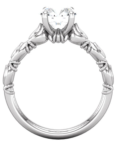 """Blair"" Ring Setting by Ever & Ever"