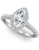 """Sloane"" Diamond Ring Setting by Ever & Ever"
