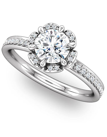 """Remi"" Diamond Ring Setting by Ever & Ever"