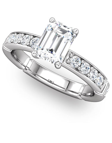 """Samantha"" Diamond Ring Setting by Ever & Ever"