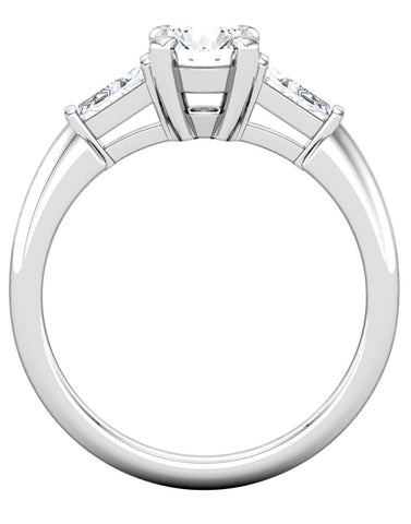 """Brooklyn"" Diamond Ring Setting by Ever & Ever"