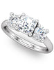 """Charlotte"" Diamond Ring Setting by Ever & Ever"