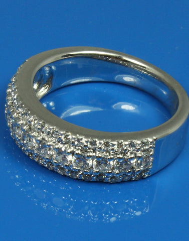 .96ctw Wide Diamond Band