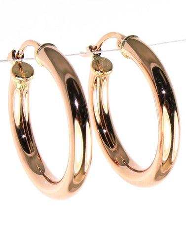Classic Round Hoop Earrings by Carla & Nancy B