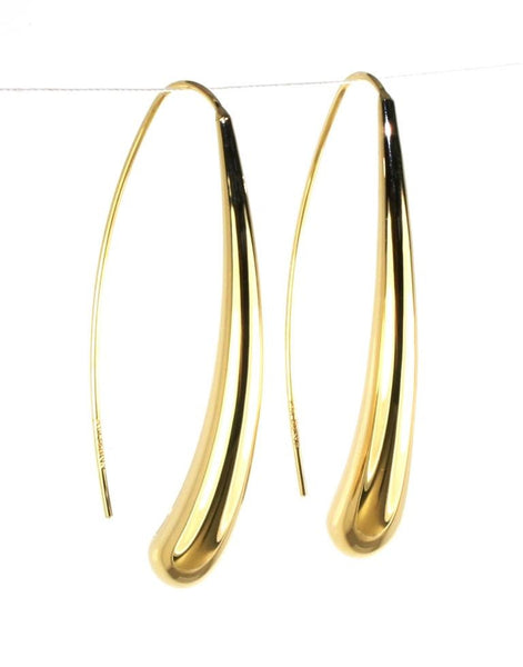 Long Teardrop Earring by Carla & Nancy B