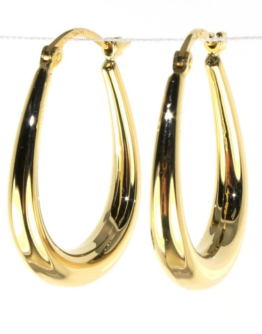U Shape Hoop Earring by Carla & Nancy B