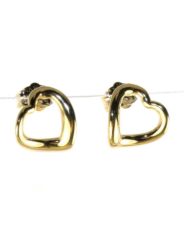 Open Heart Earring by Carla & Nancy B