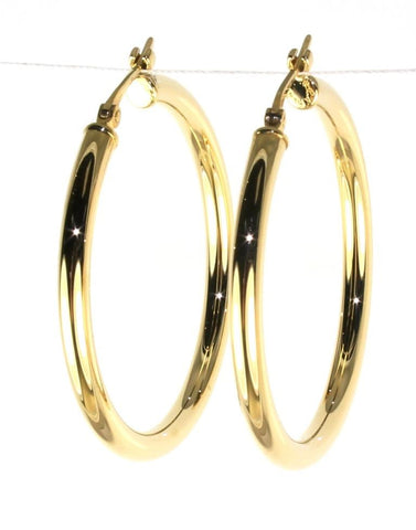 Classic Round 30mm Hoops by Carla & Nancy B