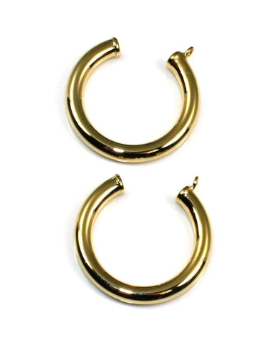 Hoop Earring Jackets by Carla & Nancy B.