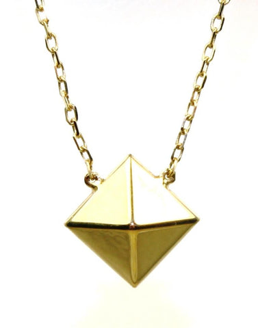 Pyramid Necklace by Carla & Nancy B