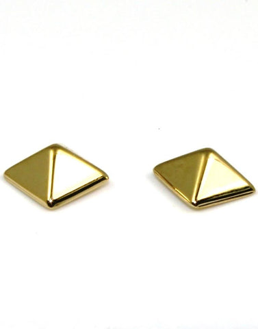 Pyramid Earrings by Carla & Nancy B