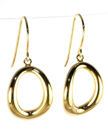 Small Oval Dangle Drop by Carla & Nancy B