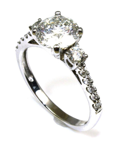 2.80ctw Diamond Wedding Ring Set