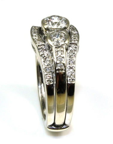 1ctw Diamond Bridal Ring Set