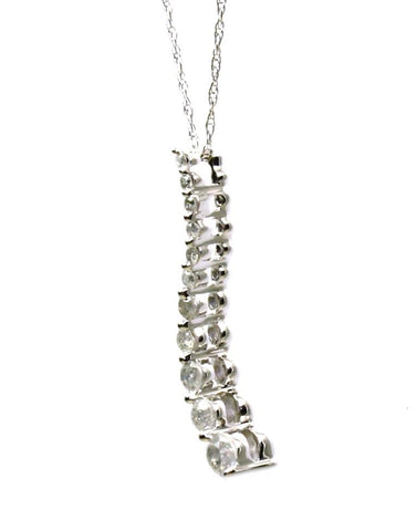 .45ctw Diamond Journey Necklace