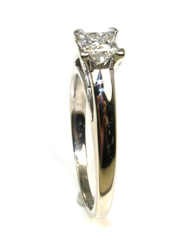 .70ct Princess Cut Diamond Solitaire Ring