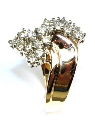 Diamond .55ctw Cluster Bow Ring