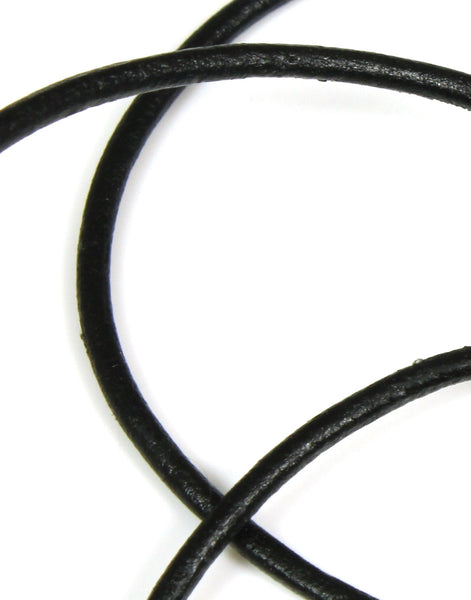 Leather Cord, Black