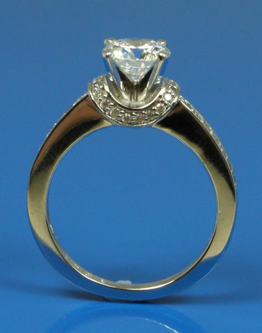 .22ctw Diamond Engagement Ring Setting