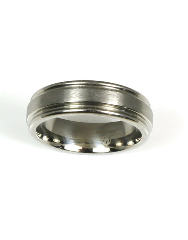 Titanium Band by Heavy Stone Rings