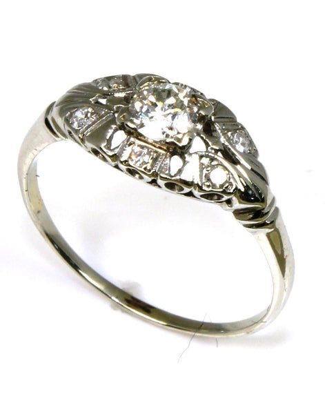 .42ctw Diamond Open Vintage Ring