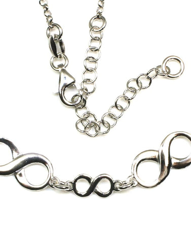 Infinity Necklace by Sterling Reputation