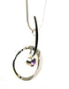 Elliptical Amethyst Elegance Necklace by Ed Levin