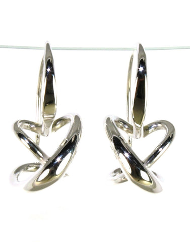 Secret Heart Earrings by Ed Levin