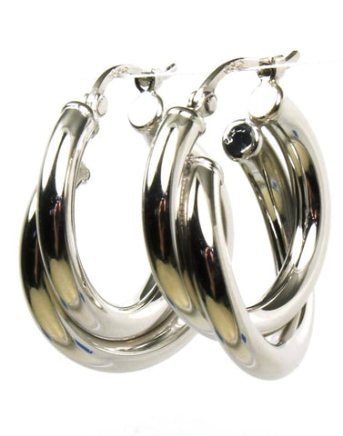 Double Hoops by Carla & Nancy B
