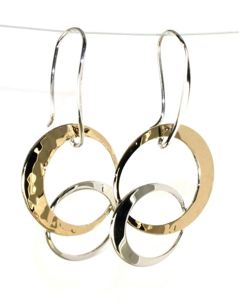 Entwined Elegance Earrings by Ed Levin