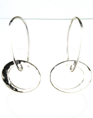 Petite Elliptical Earring by Ed Levin