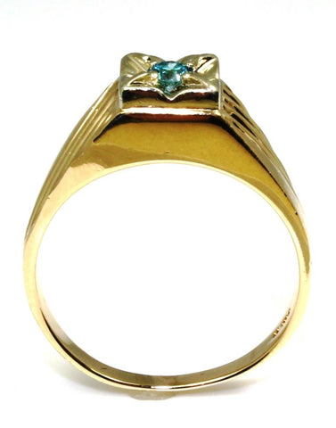 Men's Blue Diamond Ring