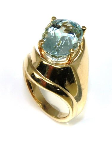 Sky Blue Topaz Ring